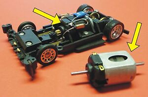Slotcar-RENN-Motor-mit-20000-U-min-fuer-Carrera-Servo-140-V2-Autos-SR181P52