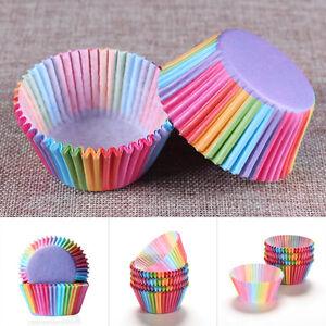 100pcs-Rainbow-Paper-Cupcake-Cases-Cake-Baking-Muffin-Dessert-Wedding-Party