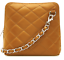 New-Ladies-Womens-Micro-Italian-Leather-Evening-Quilted-Shoulder-Crossbody-Bag thumbnail 2