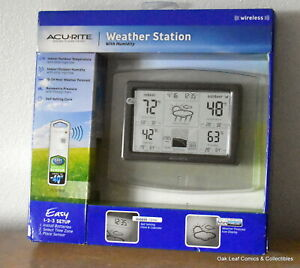 AcuRite-Weather-Station-w-High-Low-Temperature-and-Humidity-future-forecast-NEW