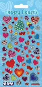 Paper Projects Happy Hearts Sparkle Réutilisable Des Autocollants 3 Ans +-afficher Le Titre D'origine Pour AméLiorer La Circulation Sanguine
