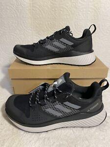 adidas Women's Terrex Folgian Hiker Hiking Color Black Size 9 Free Shipping