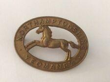 The Northamptonshire Yeomanry cap badge