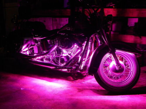 6pc 18 Color 5050 SMD RGB Led Boulevard Motorcycle Led Accent Lighting Kit
