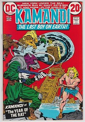 9.2 NM- Kamandi 14 unread file copy 1974 JACK KIRBY ART!