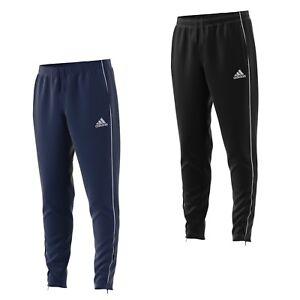 Details zu adidas Jogging Hose Herren Fußball Trainingshose lang verschließbaren Taschen