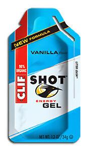 Clif Bar Clif Shot Energy Gel Food Clf Gel Vanilla Bxof24