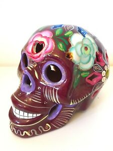 Genuine-Mexican-Large-Terracotta-Sugar-Skull