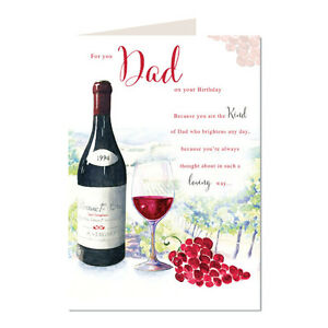 Image Is Loading For You Dad On Your Birthday Wine Design