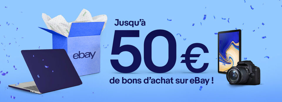 Activer l'offre - Recevez jusqu'à 50€
