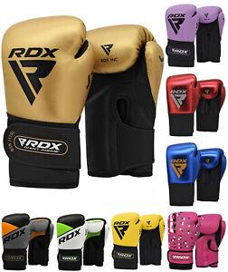Rdx боксерские тренировочные перчатки кикбоксинг тайский бокс гель пробивки спарринг сумка Kids
