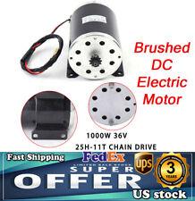 1000w Electric Scooter Motor Dc 36v My1020 Brushed Motor For Bike Quad Go Kart