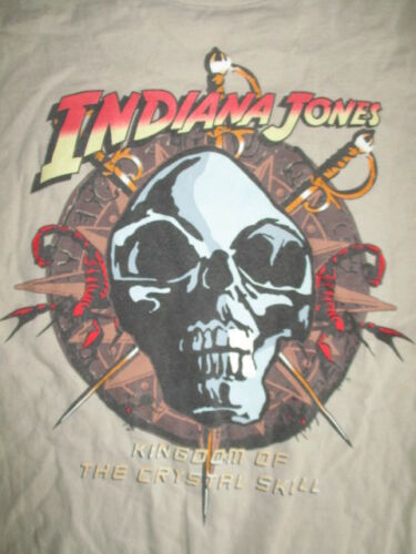 "INDIANA JONES ""Kingdom of the Crystal Skull"" (MED) T-Shirt Harri"