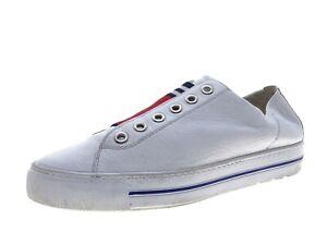 Paul Green Damen Schuhe Sneaker Laufschuhe Freizeitschuhe Gr 41 Weiß Leder