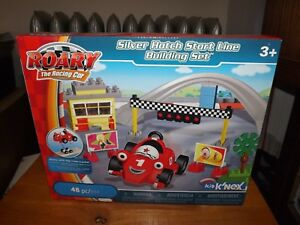 KID K039NEX SILVER HATCH START LINE BUILDING SET ROARY THE RACING CAR NIB 2010 - Reading, Pennsylvania, United States - KID K039NEX SILVER HATCH START LINE BUILDING SET ROARY THE RACING CAR NIB 2010 - Reading, Pennsylvania, United States