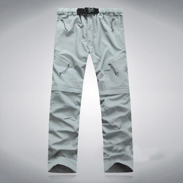 Mckinley Men/'s Zip-Off Pants Outdoor Trekking Trousers Minden Black