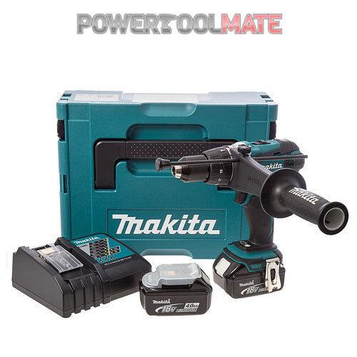 Makita DHP458RMJ 18v Li-Ion Combi Drill Cordless 2-speed - 2x 4.0Ah Batteries