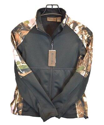 Womens Sweater Jacket Long Sleeve Camo Zip Up Ladies Marino Bay Sweatshirt NEW