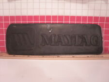 Letterpress Rubber Advertising Print Blockplate Maytag Appliances Unmounted