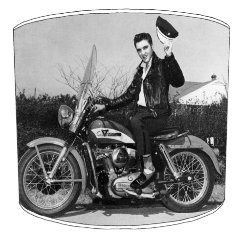 Elvis Lampshades Ideal To Match Vintage Retro Elvis Presley Cushions /& Covers.