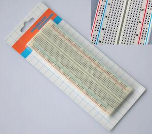 Breadboard-Experimentierboard-Steckboard-830-Kontakte-Steckplatine