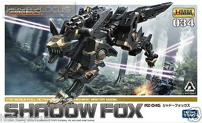 Kotobukiya Takara Tomy Zoids HMM 034 RZ-046 Shadow Fox Scale 1/72 Action Kit