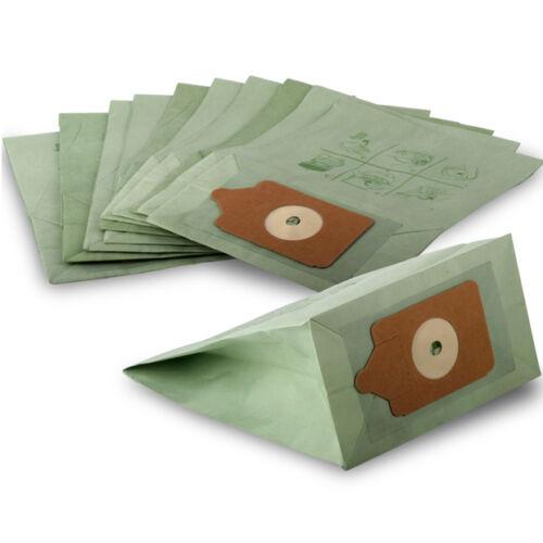 70 Pacco di Numatic Henry Aspirapolvere doppio strato di carta Sacchetti Polvere