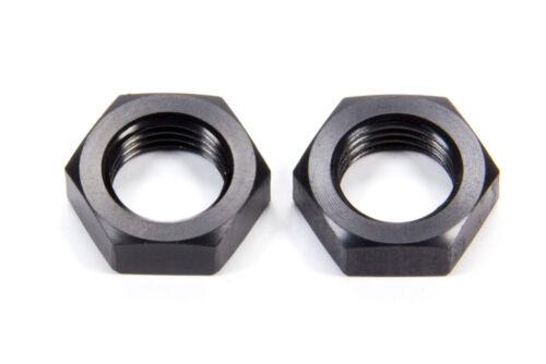 Aluminum 6 AN Black Anodize Pair FCM5100 Aeroquip Bulkhead Fitting Nut