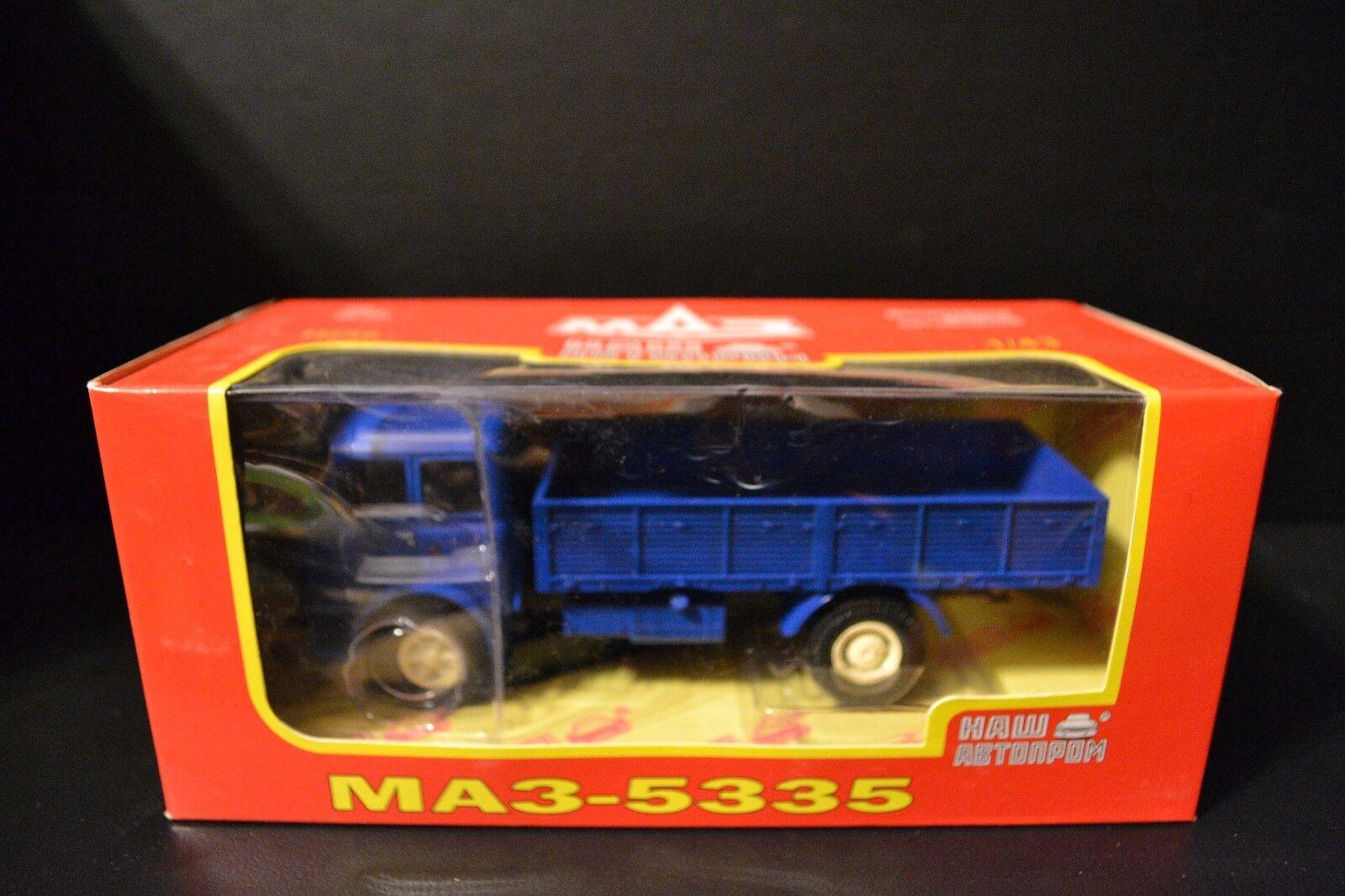 MAZ-5335 1977-1990 1977-1990 1977-1990 modelo diecast camión soviético en escala 1 43 839763