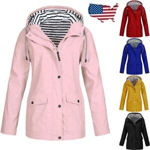 Autumn-Women-Rain-Jacket-Outdoor-Waterproof-Hooded-Raincoat-Windproof-Plus-Size