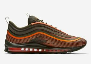 Details about Nike Air Max 97 Ultra 17 Total Orange Sequoia 918356 801 Size US 10