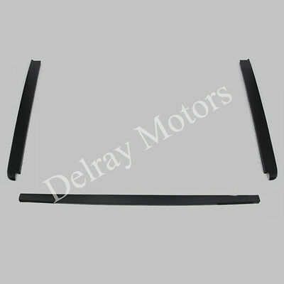 BLACK REAR TAIL GATE CAP MOULDING TEXTURED 2004-2005 FORD F-150 OEM BRAND NEW!