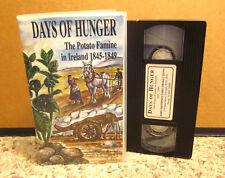 DAYS OF HUNGER documentary VHS Potato Famine in Ireland 1845-1849 docudrama