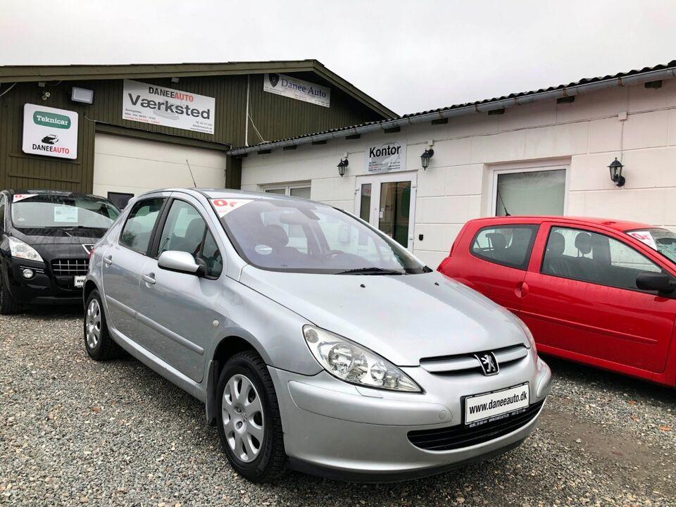 Peugeot 307 1,6 XR Benzin modelår 2004 km 232000 Sølvmetal