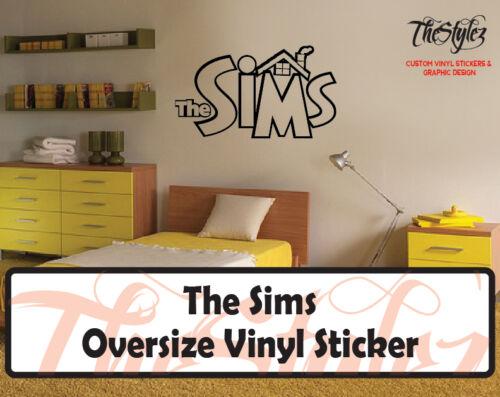 The Sims Oversize Vinyl Wall Sticker