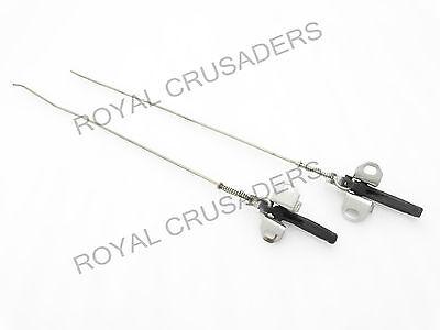 Royal Crusaders SUZUKI SAMURAI SJ410 SJ413 GYPSY BONNET HOOD RELEASE CABLE 60 LONG
