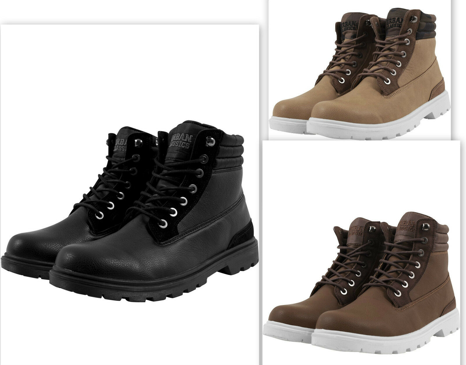 URBAN CLASSICS Zapatos Invierno Botas Botas militares hombre Invierno Zapatos botas TB1293 9e7132