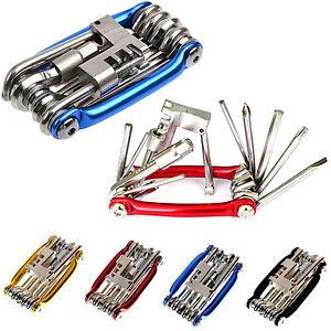 11-Multi-Tool-Bicycle-Bike-Allen-Hex-Keys-Screwdriver-Chain-Link-Tool-MTB-ROAD