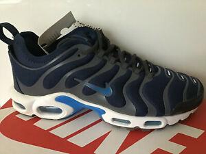 Nike-AIRMAX-TN-1-sintonizzato-Navy-Blu-Bianco-Grigio-Nuovo-in-Scatola-Scarpe-Da-Ginnastica-Scarpe-Da