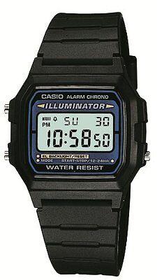New!! CASIO Standard Mens Watch F-105W-1A Black Japan Best Seller Model Import