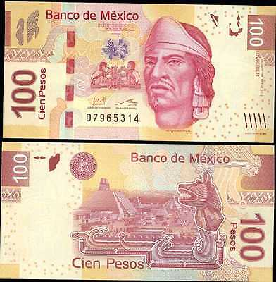 Mexico UNC 2012 P-124f 100 Pesos
