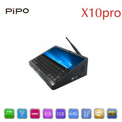"""10.8"""" Inch PIPO X10 Window 10 Android Mini Pc Dual OS TV BOX Intel Z8350 Tablet"""