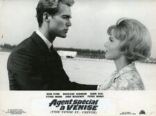 SEAN FLYNN KARIN BAAL  VOIR VENISE ET CREVER 1963 VINTAGE LOBBY CARD