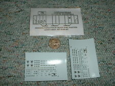 Oddballs decals N Gauge Pennsylvania PS2CD grain 6-65 ptd lt grey  H47