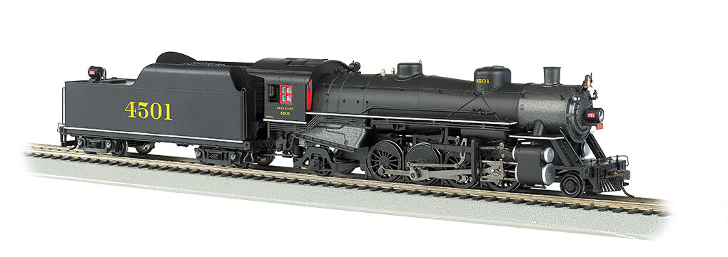 Bachmann HO Southern  4501 Light 2-8-2 w/Long Tender  DCC Ready BAC54403