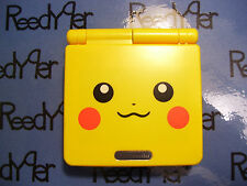 Gameboy Advance SP *MINT* Pokemon Pikachu Yellow Version Nintendo system AGS-001