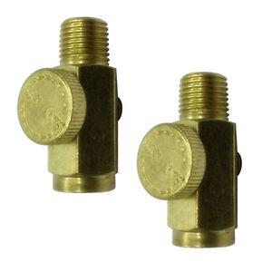 2pc-1-4-en-ligne-en-laiton-solide-comprime-regulateur-de-pression-d-039-air