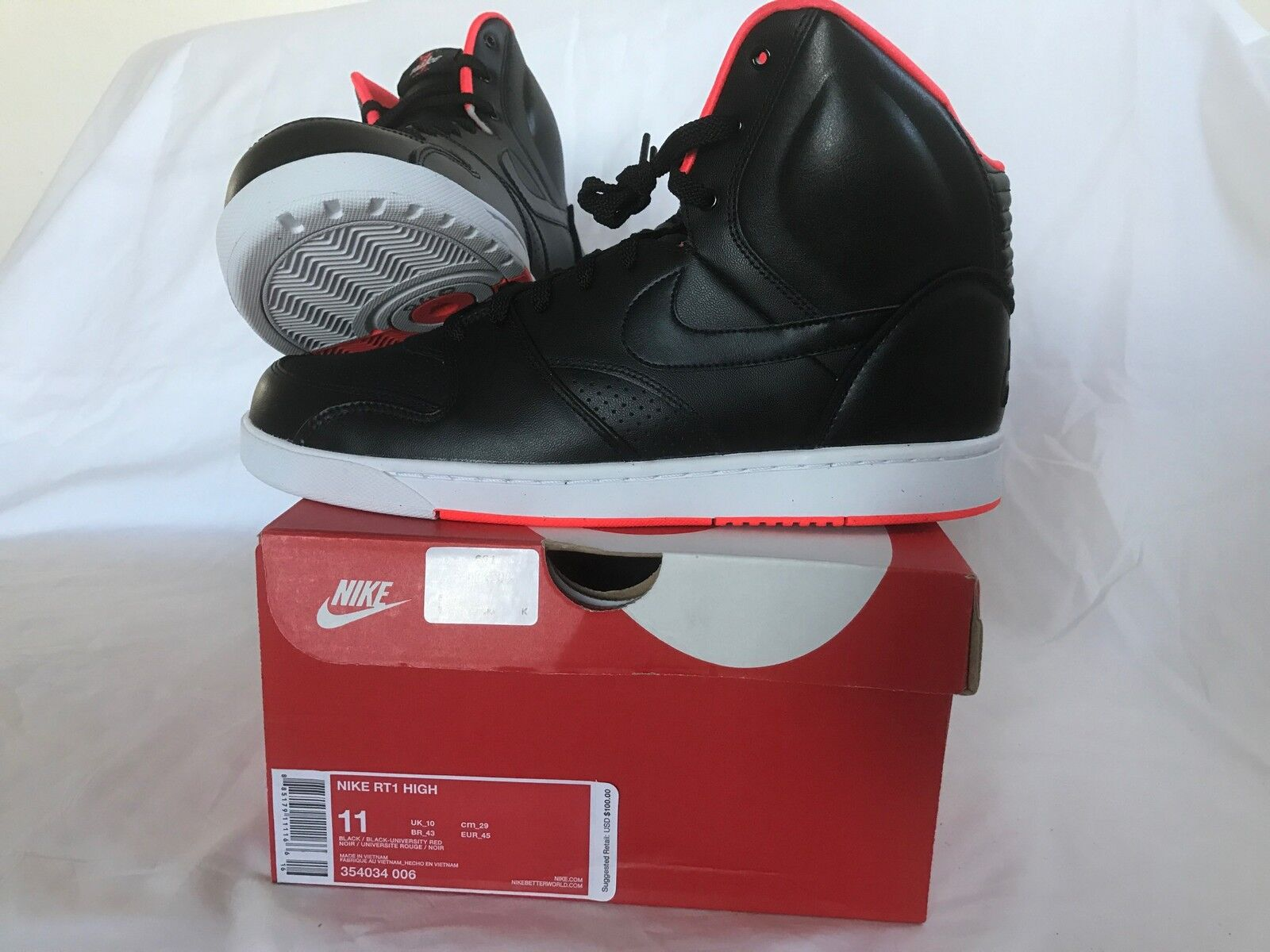 NEW Nike RT1 HIGH  Basketball shoes Men Size 11 w BOX