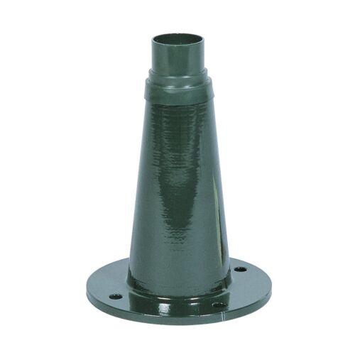 Sockel für Wegeleuchte grün B 4,8cm H 24,5cm Konstsmide Junior 577-600 17cm T