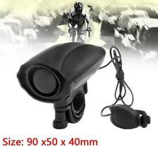 Ultra-Loud Speaker Black Electronic Bicycle 6Sound Alarm Bell Bike Siren Horn QP
